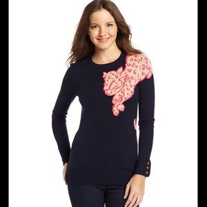 NWT Lilly Pulitzer Charter Sweater Cheetah Size XL